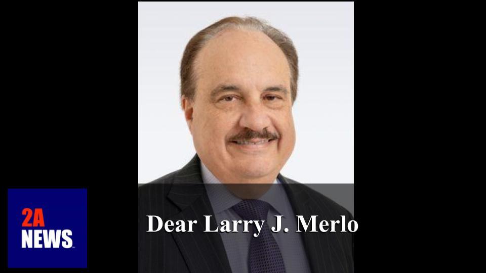 Dear Larry J. Merlo
