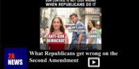 What Republicans get wrong on the Second Amendment