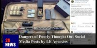 Dangers of Poorly Thought Out Social Media Posts by LE Agencies