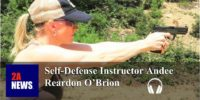 Self-Defense Gun Stories Podcast- episode 147 with Instructor Andee Reardon O'Brion