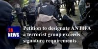 Petition to designate ANTIFA a terrorist group exceeds signature requirements