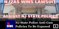 NJ State Police Anti-Gun Policies To Be Exposed