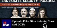 Episode 490 – Gina Roberts, News and DGUs