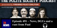 Episode 491 – News, DGUs and a rant from Paul