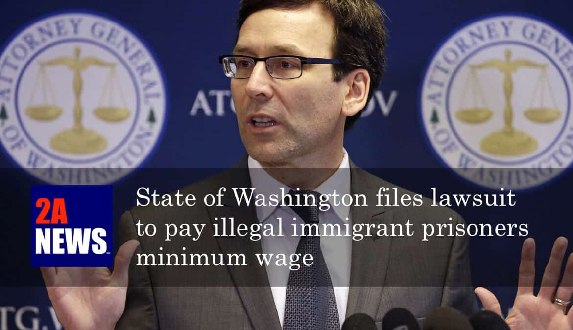 Washington State Attorney General Bob Ferguson speaks at a news conference