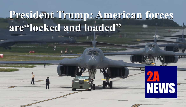 U.S.AirForceB BLancersassignedtothethExpeditionaryBombSquadron,atAndersenAFB,Guam