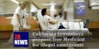 California lawmakers propose free Medicaid for illegal immigrants