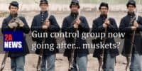 Gun control group now going after… muskets?