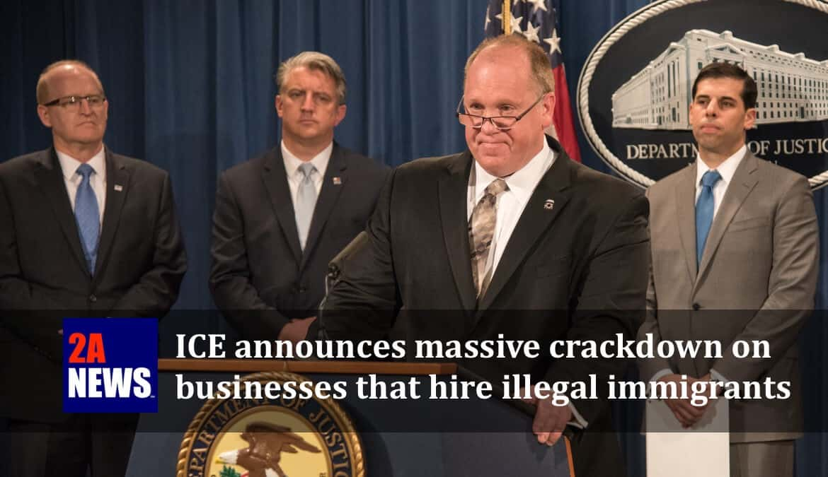 ICE Acting Director Thomas D. Homan speaks at a press conference.