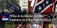 Who is to blame for the violence in Charlottesville?