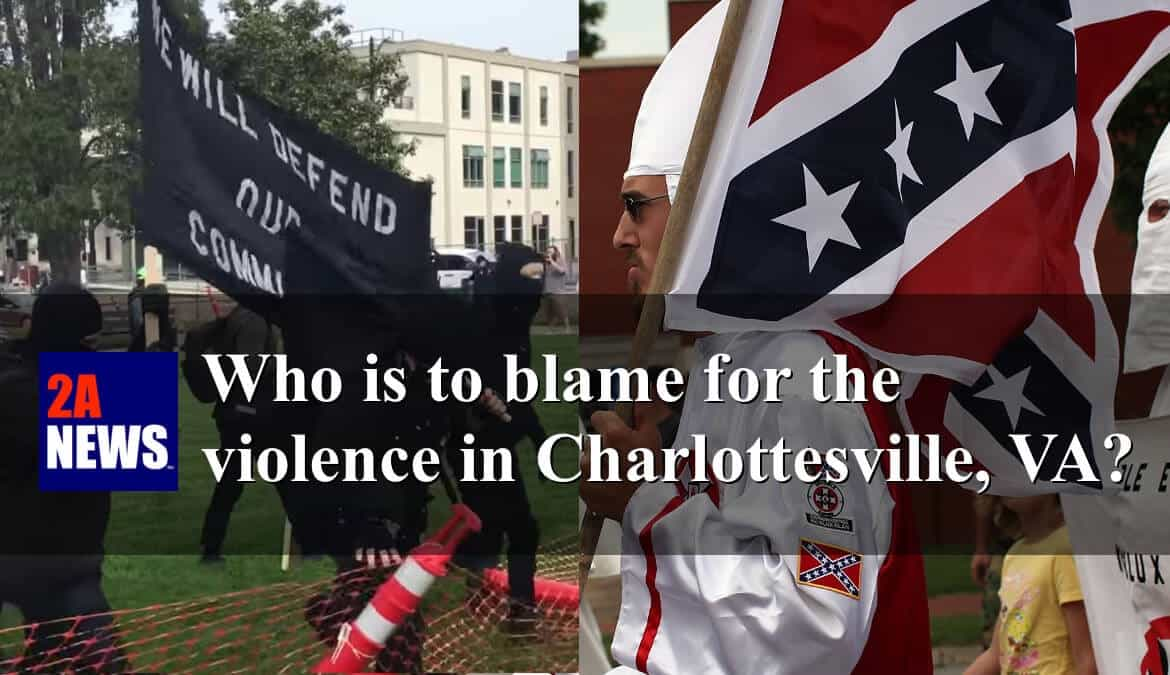 Two sides of the hate coin: Antifa and the KKK