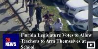 Florida Legislature Votes to Allow Teachers to Arm Themselves at School